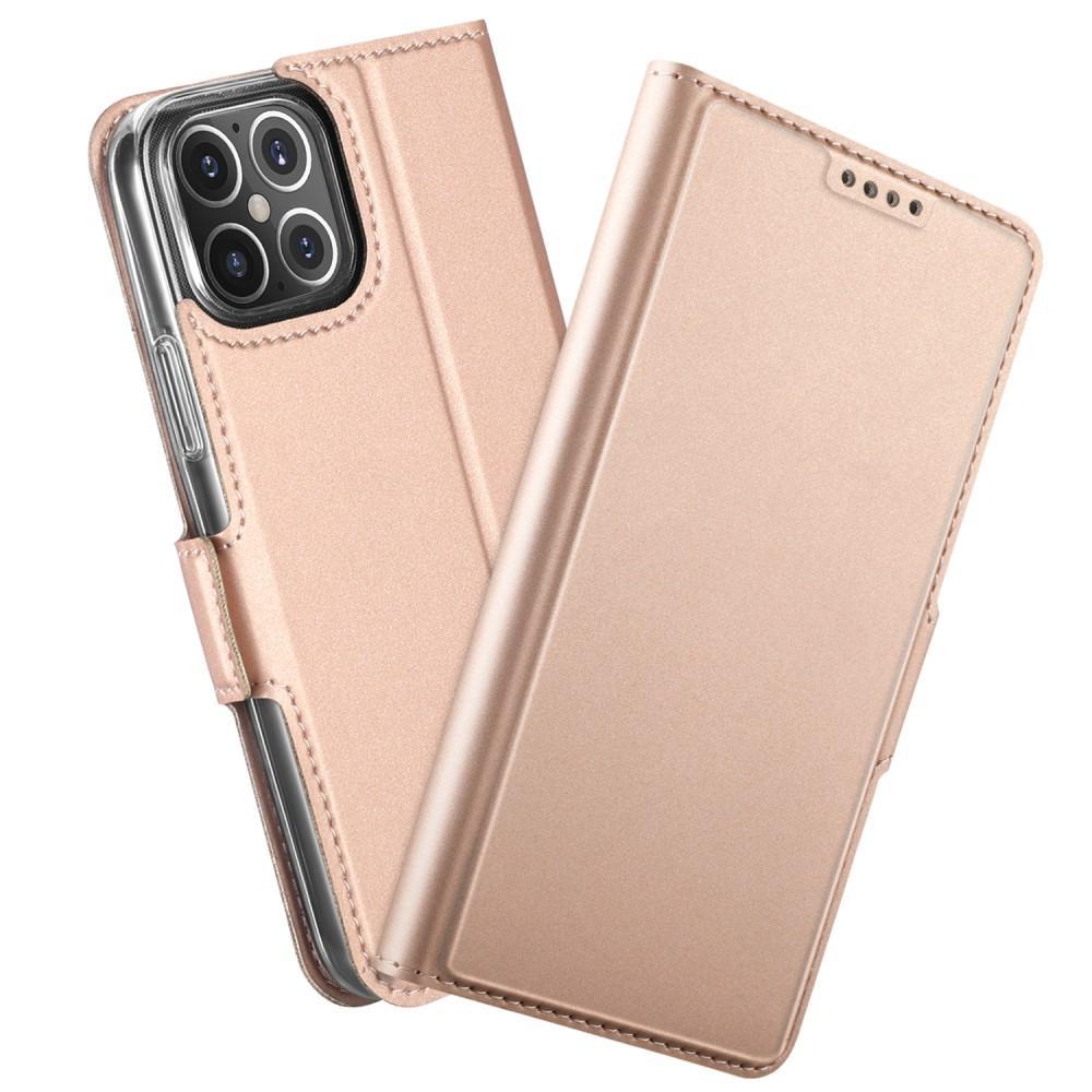 Slim Card Wallet iPhone 12 Mini roséguld