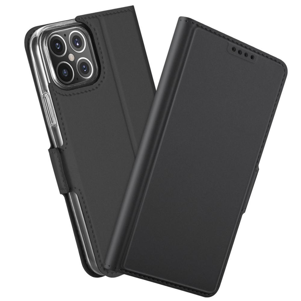 Slim Card Wallet iPhone 12 Mini svart