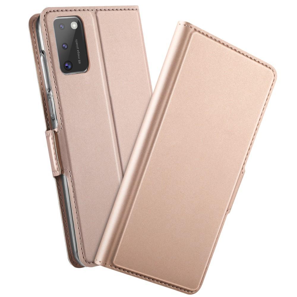 Slim Card Wallet Samsung Galaxy A41 roséguld