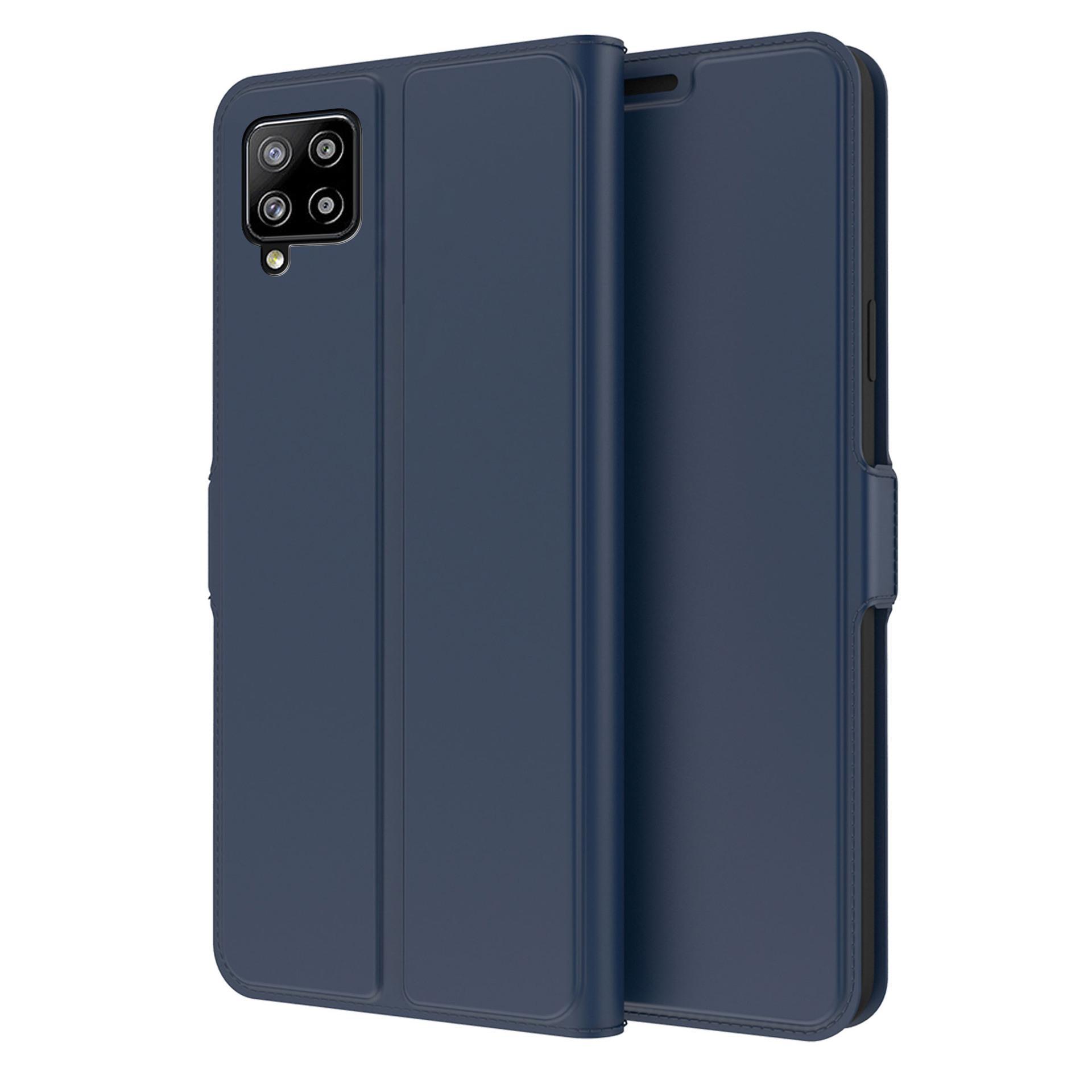 Slim Card Wallet Samsung Galaxy A42 5G marinblå