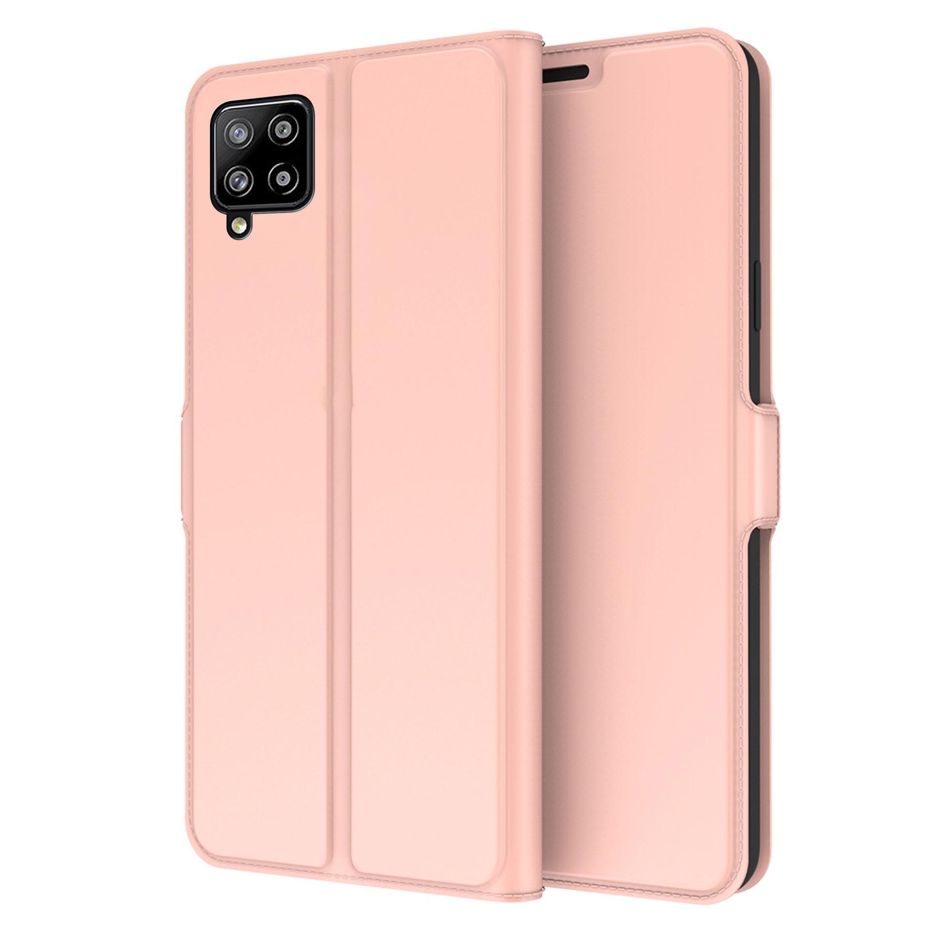 Slim Card Wallet Samsung Galaxy A42 5G roséguld