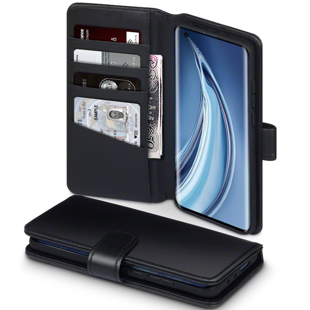 Äkta Läderplånbok Xiaomi Mi 10/10 Pro svart