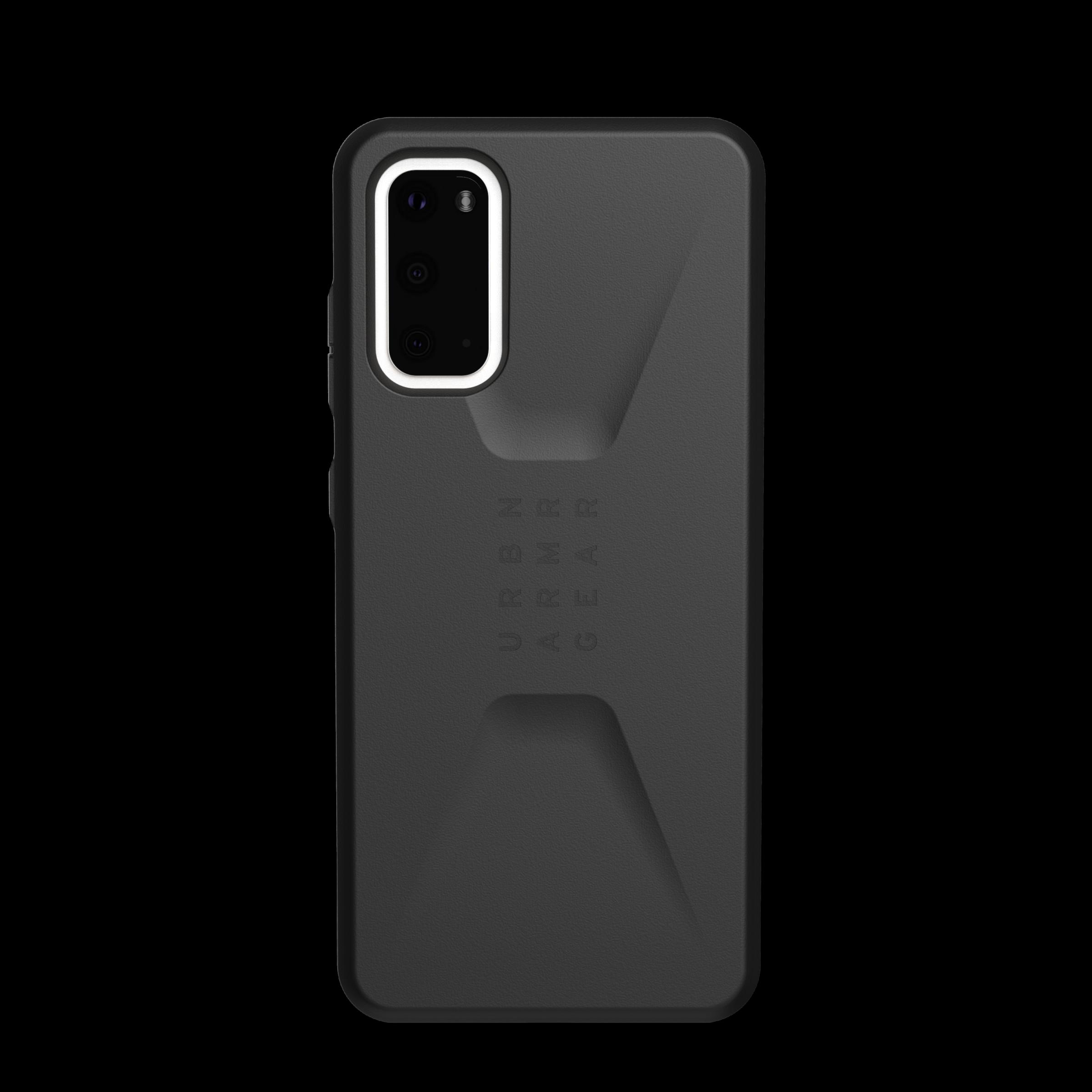Civilian Series Case Galaxy S20 Black