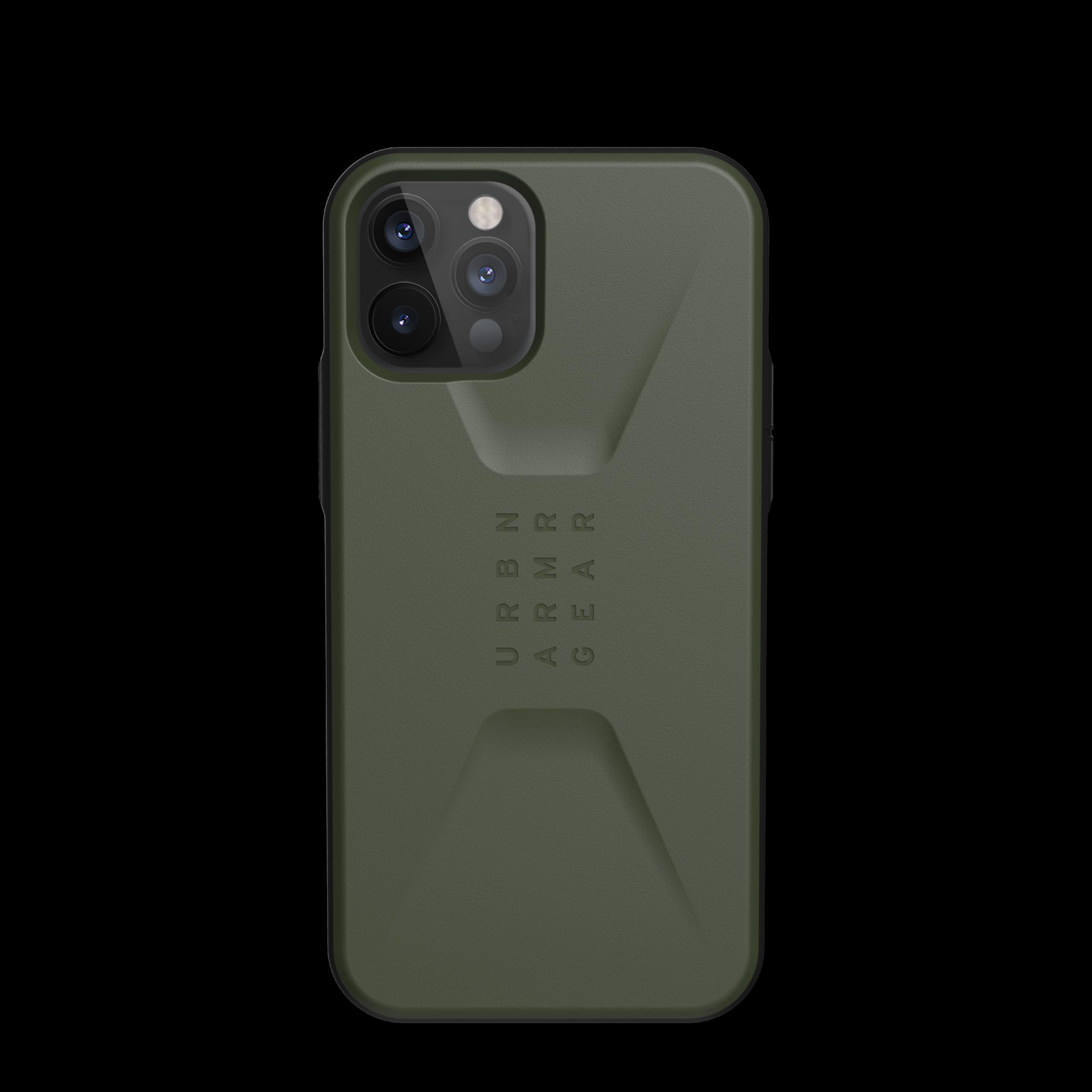 Civilian Series Case iPhone 12/12 Pro Olive