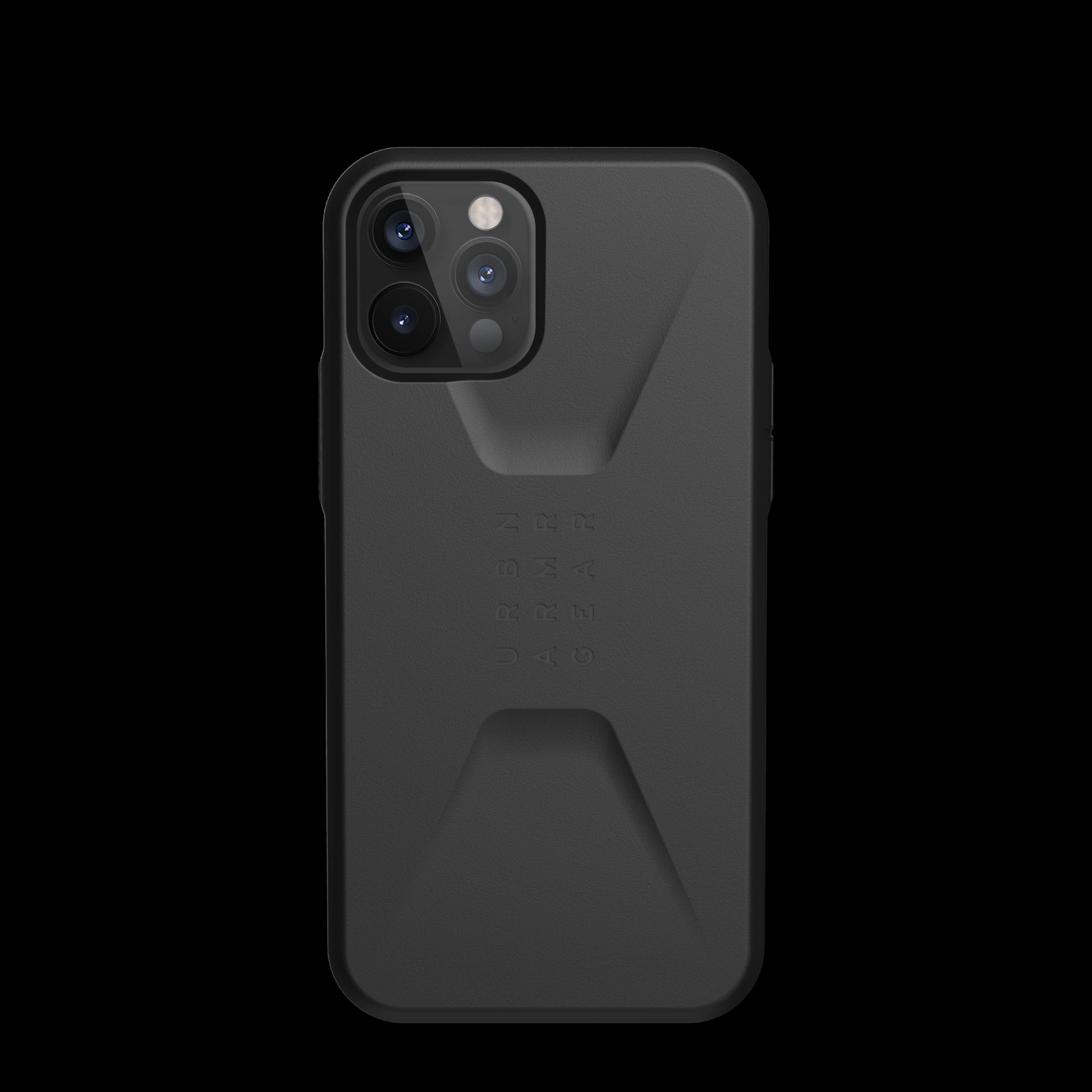 Civilian Series Case iPhone 12 Pro Max Black