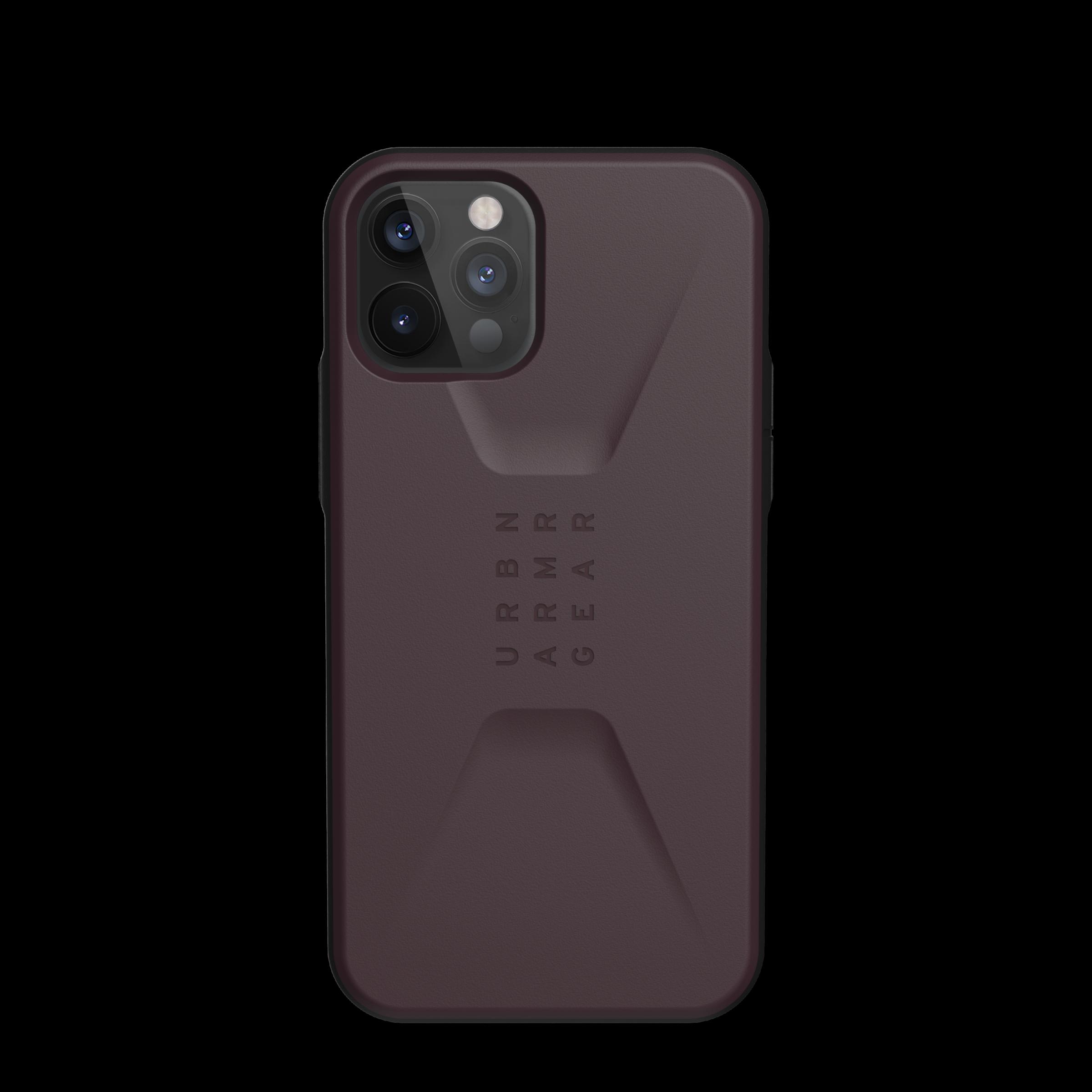 Civilian Series Case iPhone 12 Pro Max Eggplant