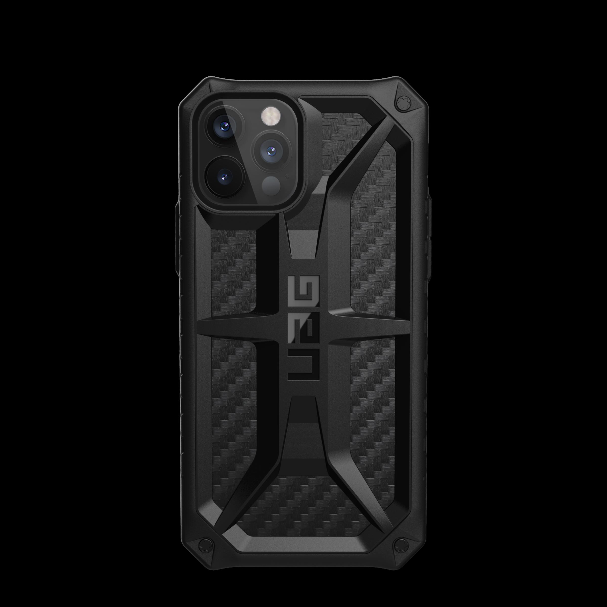 Monarch Series Case iPhone 12/12 Pro Carbon Fiber