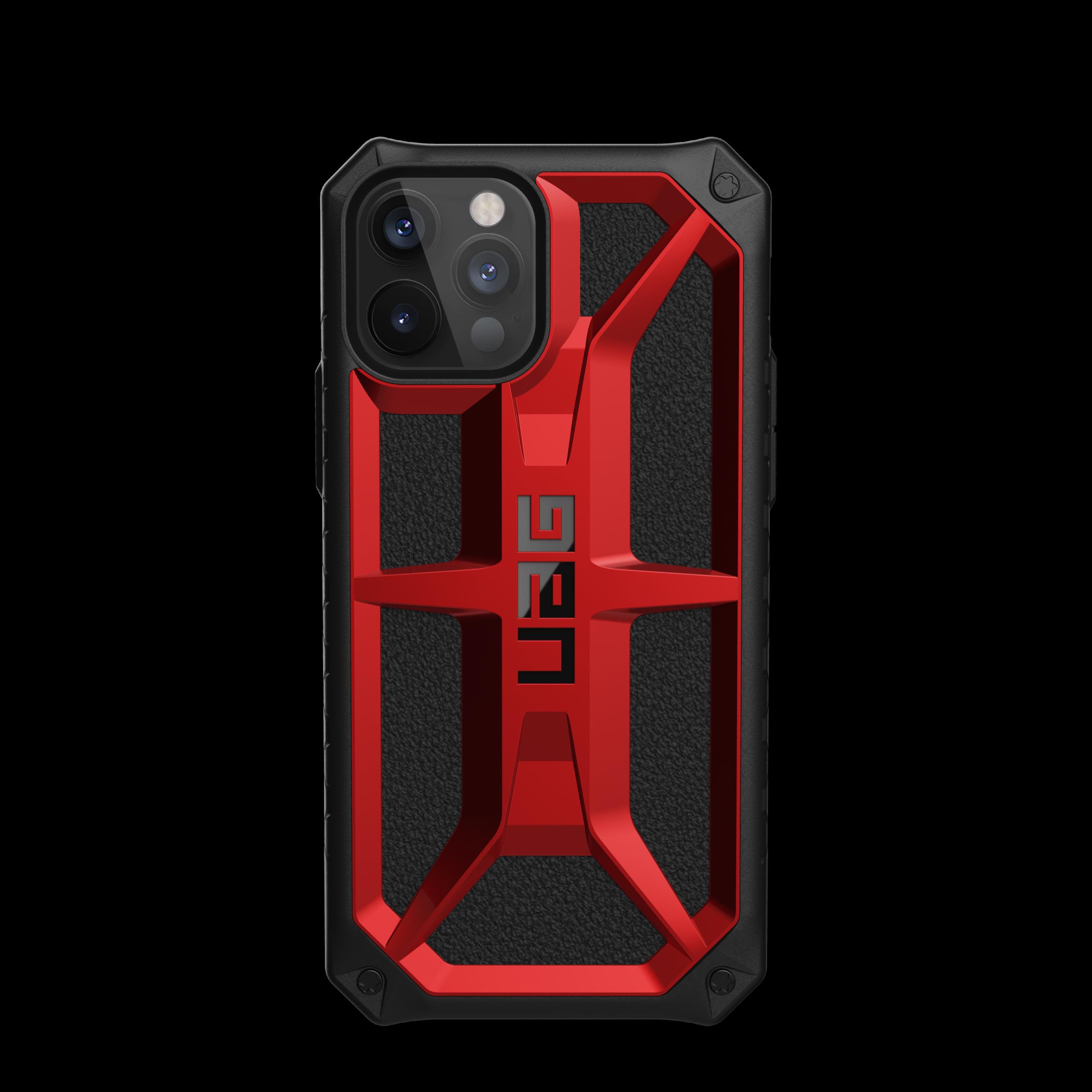 Monarch Series Case iPhone 12/12 Pro Crimson