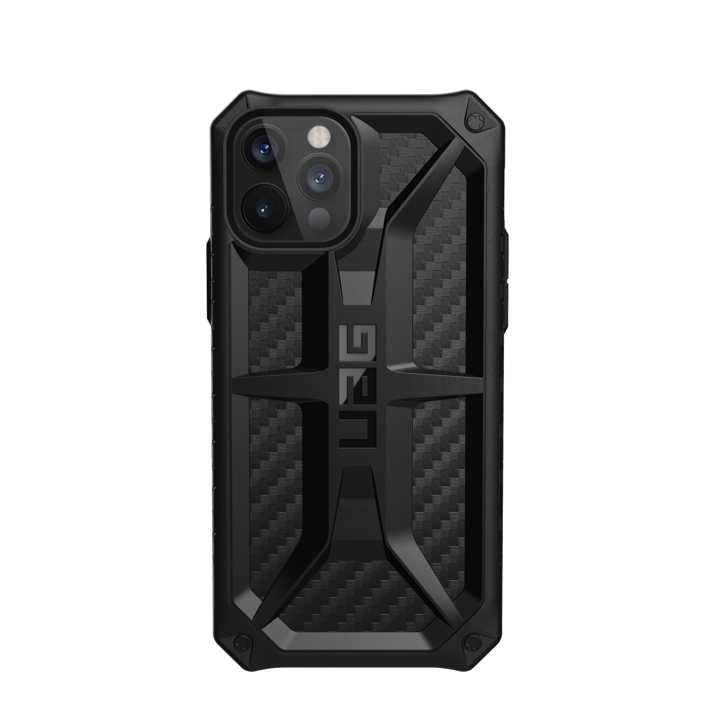 Monarch Series Case iPhone 12 Pro Max Carbon Fiber