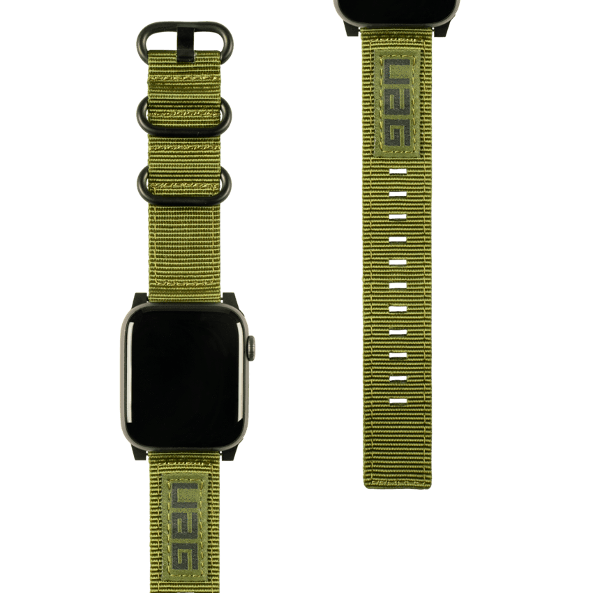 Nato Watch Band Apple Watch 42/44/45 mm Olive Drab