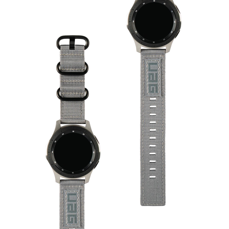 Nato Watch Band Galaxy Watch Active/42mm Grey