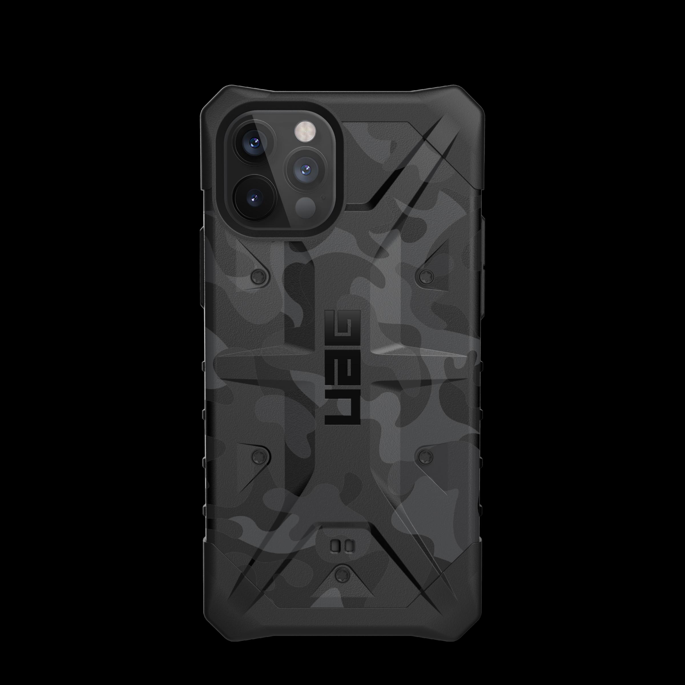 Pathfinder Series Case iPhone 12 Pro Max Black Midnight Camo