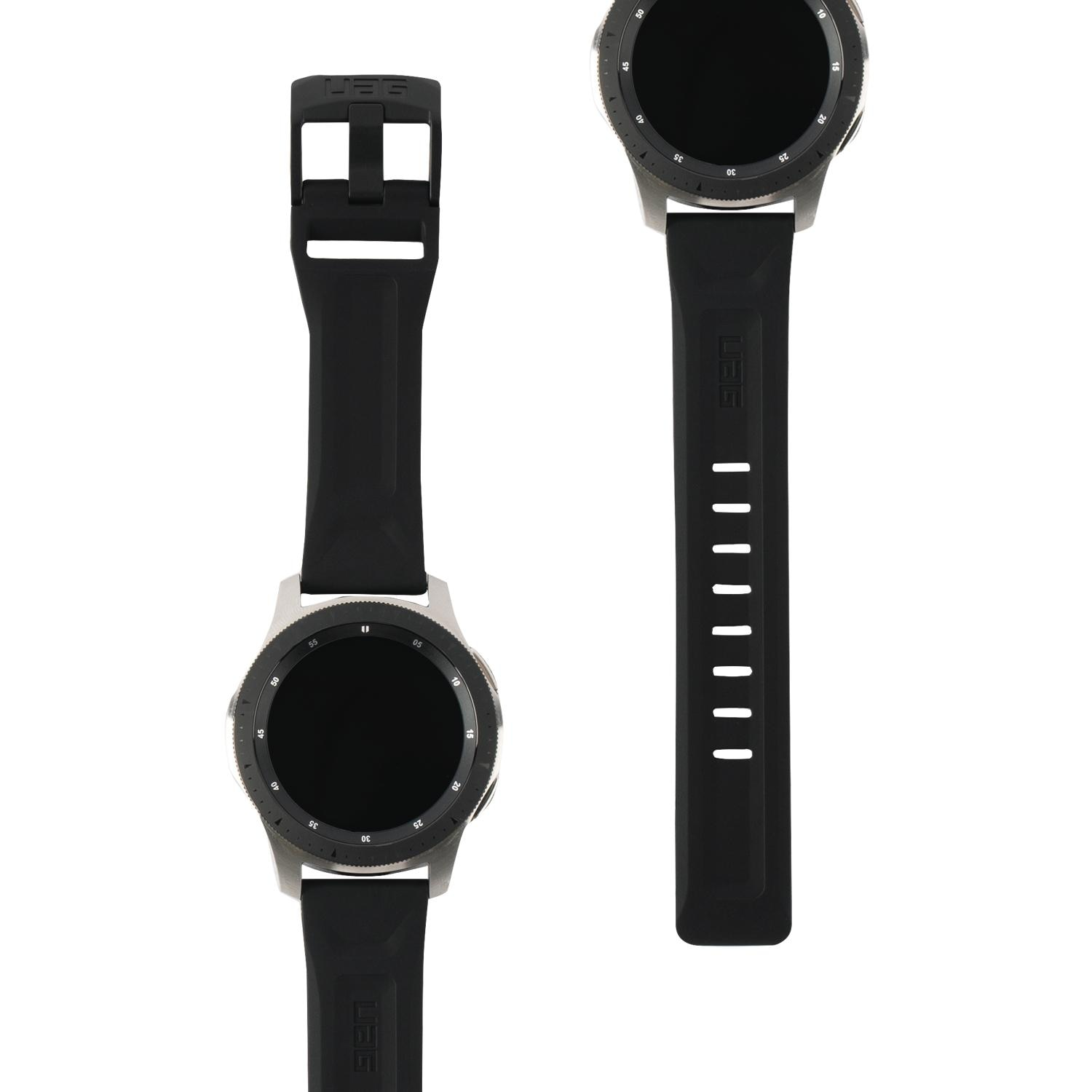 Scout Silicone Strap Galaxy Watch 46mm/45mm Black