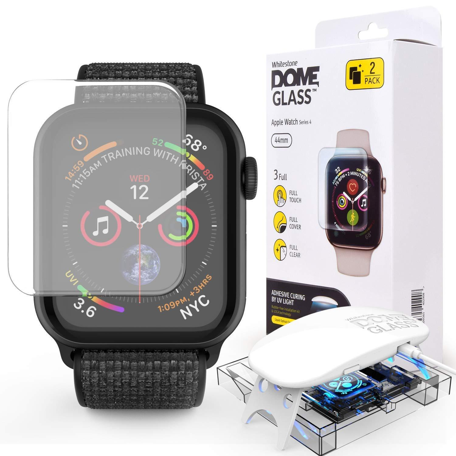 Dome Glass Screen Protector Apple Watch 44mm