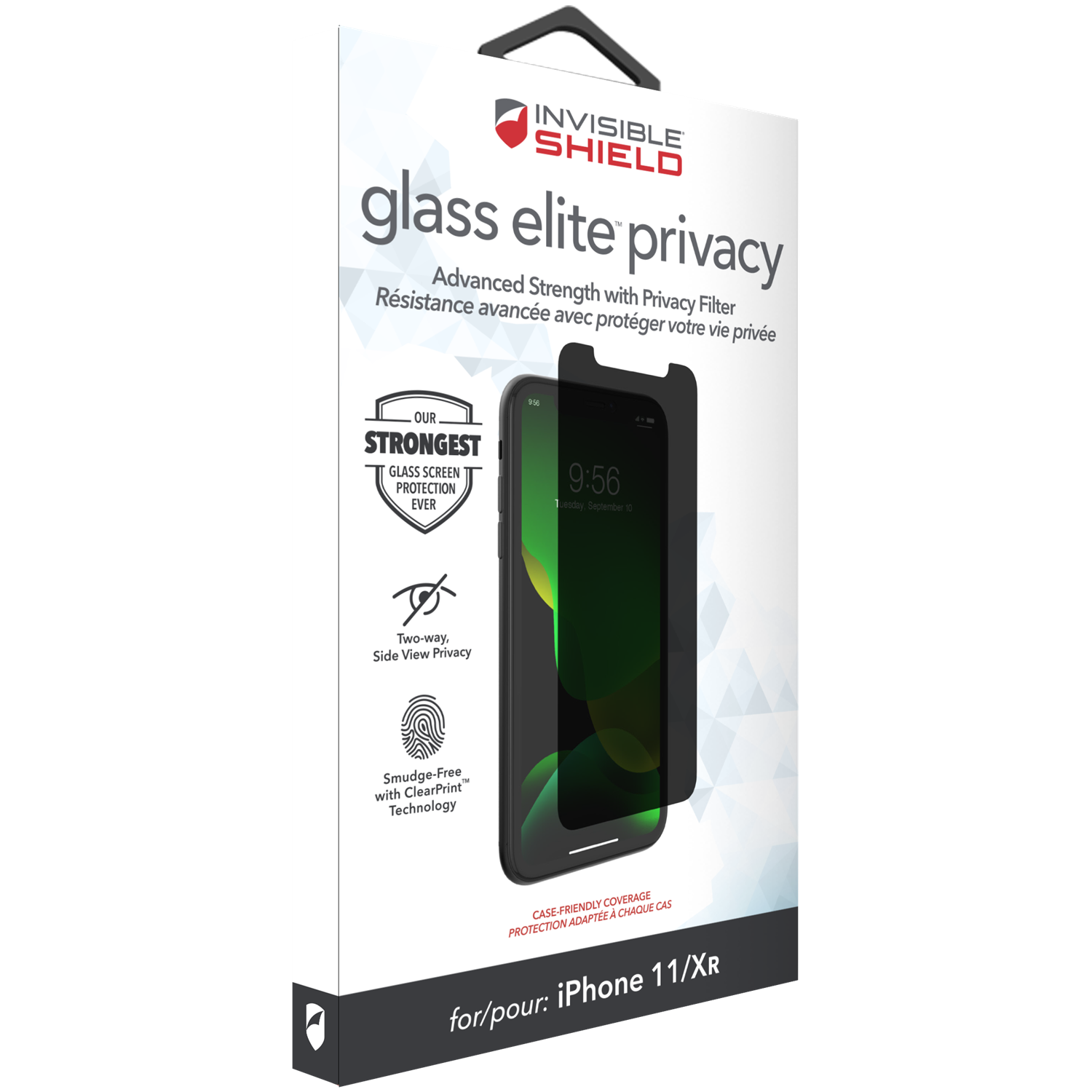 InvisibleShield Glass Elite Privacy iPhone XR/11